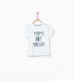 Spanish text T-shirt-T-shirts-Baby boy (3 months - 3 years)-KIDS | ZARA United States