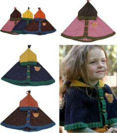 Kids Child Boy Girl Bear Knitting Wool Hat Shawl Cloak Wraps Earmuff Scarf Cap