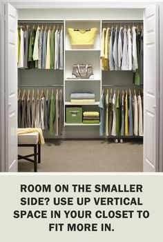 Martha Stewart Closet system for Master closet Clean Bedroom, Home, Closet Kits, Master Bedroom Closet, Closet Bedroom, Living Storage, Martha Stewart Closet, Closet Remodel, Closet Layout