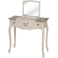 This #ManorHouse three #Drawer #ConsoleTable comes with a great piece charm and character. #BigLivingUK http://www.bigliving.co.uk/furniture/bedroom/dressing-tables/manor-house-2-drawer-dressing-table-with-folding-mirror.html