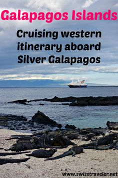 Galapagos, cruising western islands aboard Silver Galapagos: how to travel Galapagos, which Galapagos itinerary to choose & voyage journal Silver Galapagos western itinerary