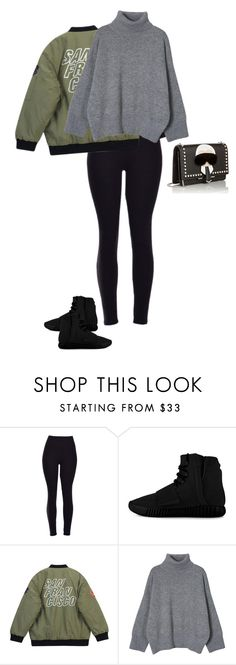 """""""Untitled #1676"""" by quaybrooks on Polyvore featuring adidas, Chicnova Fashion, Fendi, women's clothing, women, female, woman, misses and juniors"""