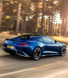 The Aston Martin Vanquish S Is One Seriously Souped-Up Whip