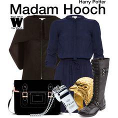 Inspired by Zoe Wanamaker as Madam Hooch in the Harry Potter film franchise.