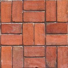 Quero construir com tijolos aparentes: quais são as possibilidades do material? É durável? - 12/11/2010 - UOL Casa e Imóveis - Tire suas Dúvidas - Arquitetura Brick Texture, Floor Texture, Tiles Texture, Brick Pathway, Game Textures, Architectural Materials, Brick Architecture, Vintage Tile, Brick Design