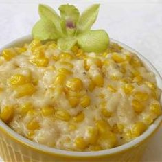 "Cream Corn Like No Other | ""Everyone I've served this to can't help but say ""wow!"" It's an awesome recipe--sweet and rich and yummy!"""