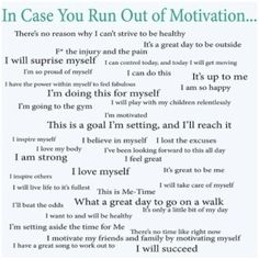 Here Is Some Healthy Motivation for Your Week!