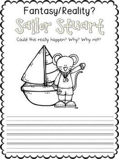 Stuart Little Coloring Pages On Book
