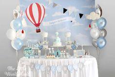 Hot Air Balloon Birthday Party Ideas | Photo 3 of 16