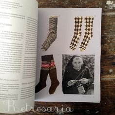 Portuguese knitting. History and practice of knitting in Portugal, with 20 models of traditional inspiration