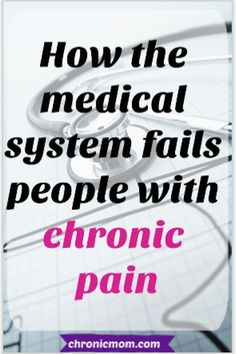 how the medical system fails people with chronic pain Chronic Fatigue Syndrome, Chronic Illness, Chronic Pain, Good Health Tips, Health And Fitness Tips, Healthy Tips, Health Advice, Healthy Food, Healthy Eating