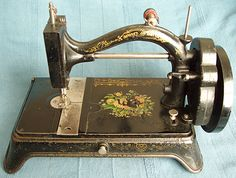 Improved Home Shuttle. Produced c1877 this machine has the serial number stamped on the front slide plate along with R K & Co. which are the initials of the company's sole agent in Europe - Rennick, Kemsley & Co