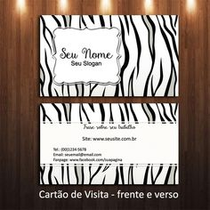 Arte Cartão de Visita - cód-05-15