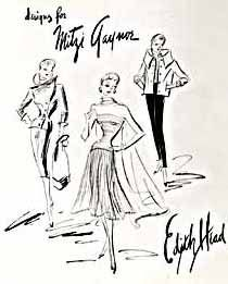 203 best edith head fashion designer for hollywood images Toys From the 70s edith head sketches for mitzi gaynor