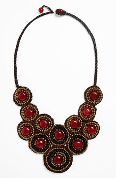 Panacea+Circle+Bib+Necklace+available+at+#Nordstrom