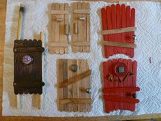 Simply-The-Popsicle Stick Fairy Door