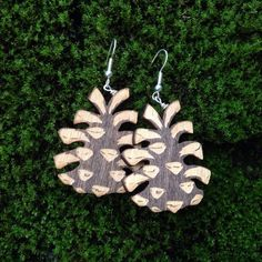 Pinecone earrings 29€. www.pinjapuu.com