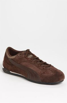 PUMA 'Fast Cat' Sneaker (Men)  black is more dressy than the casual brown. Both nice look