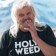 Bernard Rappaz / Holyweed hemp shirt