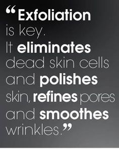 #exfoliation keep it to a couple of times at week at most, overexfoliation is bad too.