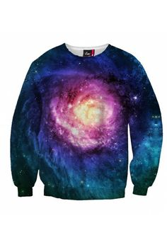 """$59 The supernaturally colorful """"Tear Trendy"""" features charming colors and exciting, fantastic stars. Once you wear this galactic sexy sweater, people will admire your looks. The intense color mix of the """"Tear Trendy"""" will certainly take you to a higher level… where you will be setting trends."""