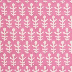 Textile Tuesday: Molly Mahon at Schumacher - The English Room Textile Patterns, Print Patterns, Textiles, Ikat Fabric, Pink Fabric, Chair Fabric, Fabric Wallpaper, Fabric Samples, Schumacher