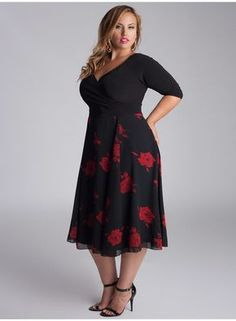 e2c8ac28c427 plus size red lace cocktail dress Naf Dresses