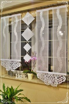 Galeria zdjęć aukcji Allegro - Tamara kwadro Galerie Allegro.pl Kitchen Curtains, Panel Curtains, Decoration, Sewing Hacks, Living Room Decor, Couture, Furniture, Home Decor, Crochet Tablecloth