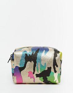 ASOS+Metallic+Camo+Make+Up+Bag