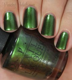 OPI Green On The Runway | Coca-Cola Collection | Peachy Polish