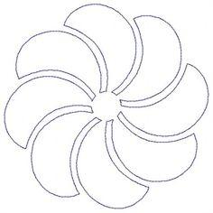 Pinwheel Motif by Jessica Schick JSPIRO04EMB43