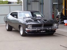 "The Muscle Car History Back in the and the American car manufacturers diversified their automobile lines with high performance vehicles which came to be known as ""Muscle Cars. Australian Muscle Cars, Aussie Muscle Cars, American Muscle Cars, Ford Falcon, Us Cars, Sport Cars, Ford Classic Cars, Ford Fairlane, Classic Motors"