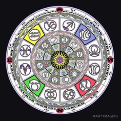 Zodiac of truth by MARTYMAGUS1