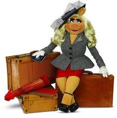 miss piggy fashion Miss Piggy, Jim Henson, Muppets Most Wanted, Plus Size Art, Kermit The Frog, Kermit Face, The Muppet Show, Beauty Contest, Tommy Hilfiger