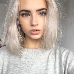 Milf white hair