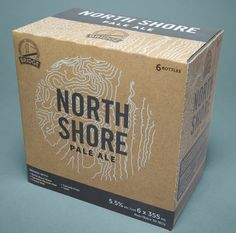 Branding and Packaging Designs This Craft Beer Packaging Channels the Pacific Northwest Lifestyle