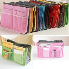 Hot Women Nurse Insert Handbag Pouch Purse Travel Organizer Insert Bag Tote Bag #Unbranded #HandBag