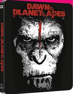 Dawn of the Planet of the Apes 2014 Exclusive UK SteelBook Blu-ray 3D + Blu-ray +UV:
