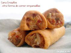 Las Cosas de Ana: CANU-CRESPILLOS, otra forma de comer empanadillas.