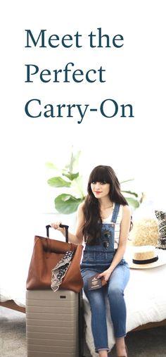 """The perfect carry-on bag has arrived – and it's under $250"" - Vogue  Australia Acesse no Site para informações http://storelatina.com/travelling #Австралия #avstraliya #Australien #استرالیا"