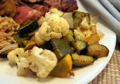 Garlicky Roasted Vegetables Recipe