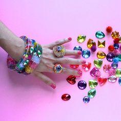 Glitter Hands