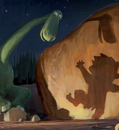 """Here's Your First Look At Pixar's """"The Good Dinosaur"""""""