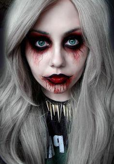 best halloween zombie makeup google search tricks and treats pinterest halloween zombie halloween and search - Scary Vampire Halloween Costumes
