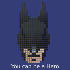 Batman citation Pixel Art