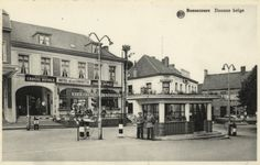 L' ancien poste de douane belge à Bon-Secours