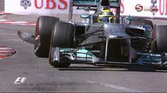 Monaco 2013 - Nico Rosberg (and a bird)