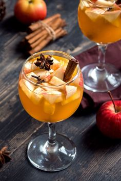 Fall meets plaid! We've added Scotch to apple cider and we absolutely love the smoky goodness this brings to the drink. Fall Cocktails, Fall Drinks, Apple Cider Sangria, Pomegranate Seeds, Cinnamon Sticks, Tasty, Autumn, Fruit, Cooking