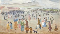"Museum acquires internment camp artworks: ""It has moral lessons for the U.S. even today, Lessons about guarding against our worst impulses during times of national crisis, about protecting our most vulnerable communities during those times, whether racial profiling after 9/11 or immigration reform or other issues that are not just related to the past but are relevant today."" Takei emphasized the importance for the artifacts to become ""object lessons."" ""It was an egregious violation of the…"