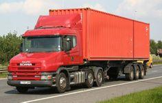 Transportes de containers - Carreta